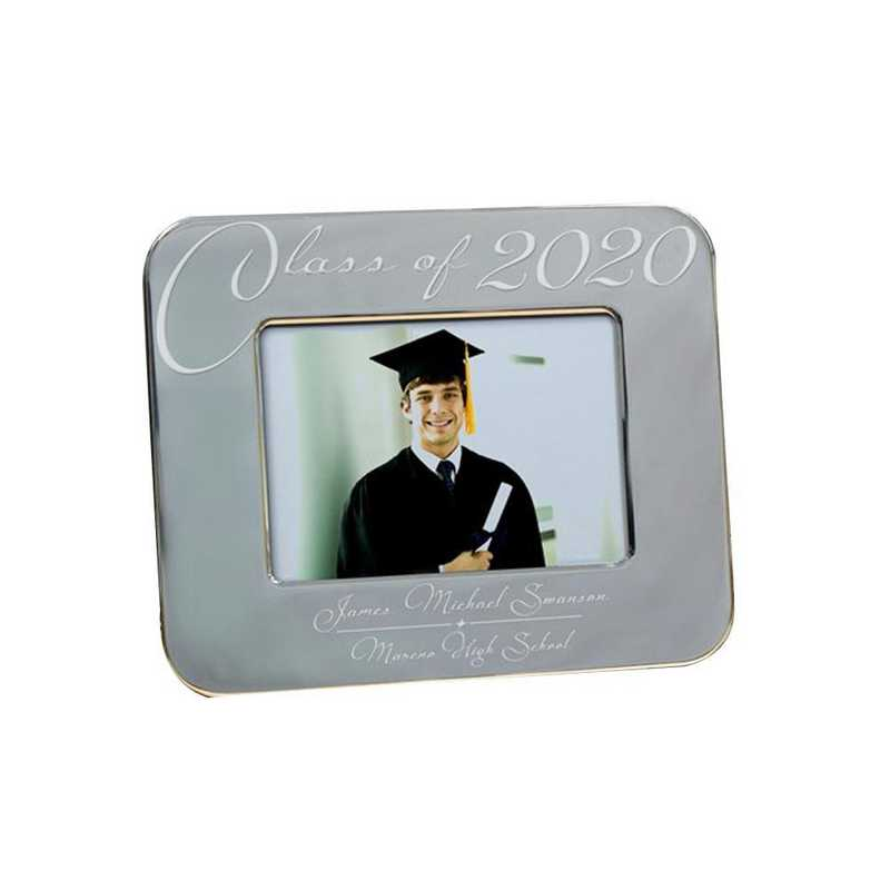 M588624: PGS Engraved Grey Class Of Grad Frame 8x10