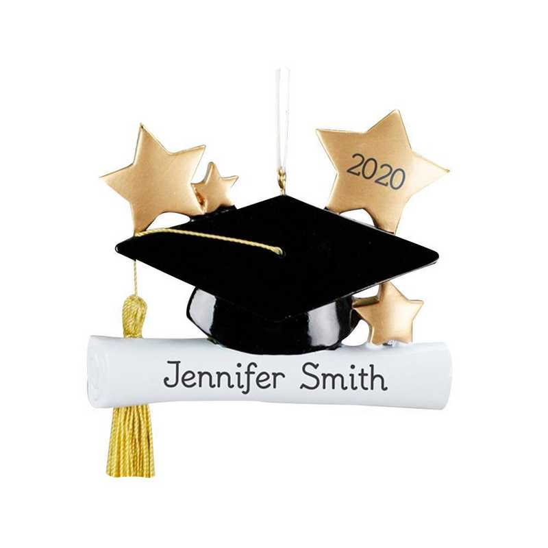 860713: PGS Personalzied Graduation Ornament