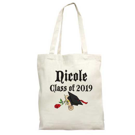 81262: PGS Personalized Graduation Tote Bag