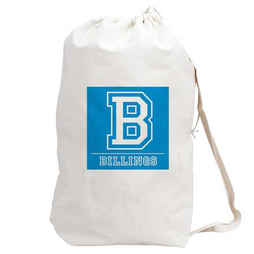 6874882BL: LAUNDRY BAG BLUE