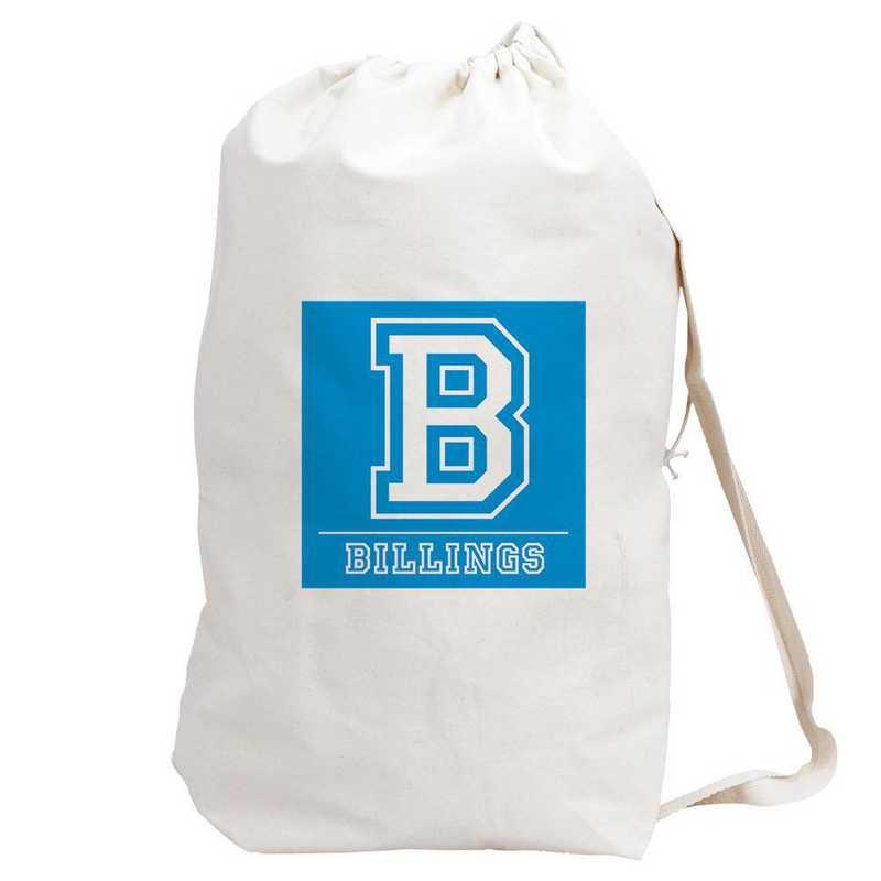 6874882BL: LAUNDRY BAG BLUE