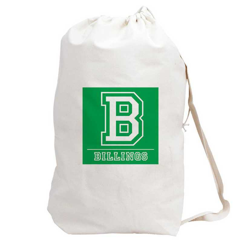 6874882GN: LAUNDRY BAG GREEN