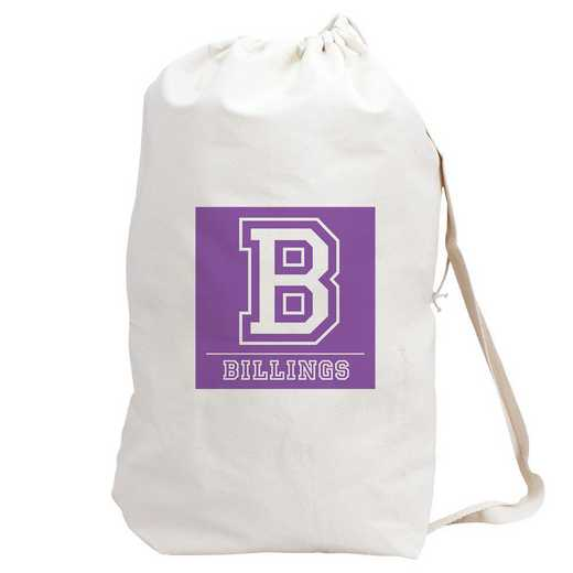 6874882PR: LAUNDRY BAG PURPLE