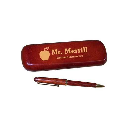 722850: PGS Techer Rosewood Pen Set