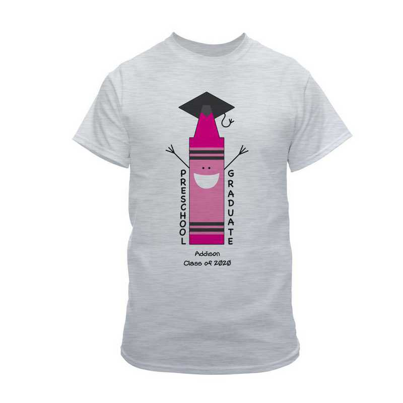 Ash Grey Graduation T-Shirt Ash Grey