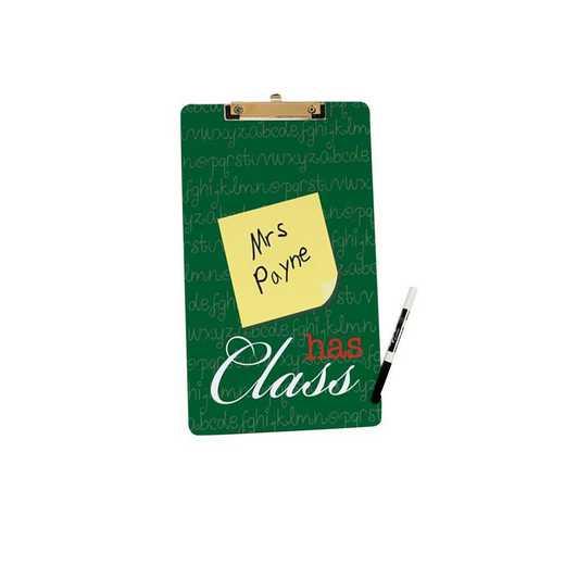 U591424LT: Has Class Letter Size Clipboard w/ Hardware