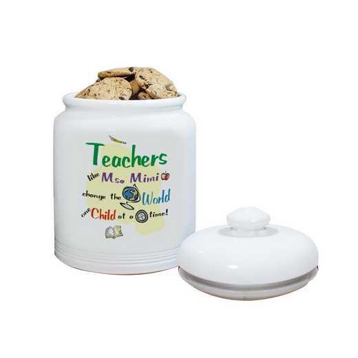 U112215: PGS Change the World Ceramic Cookie Jar