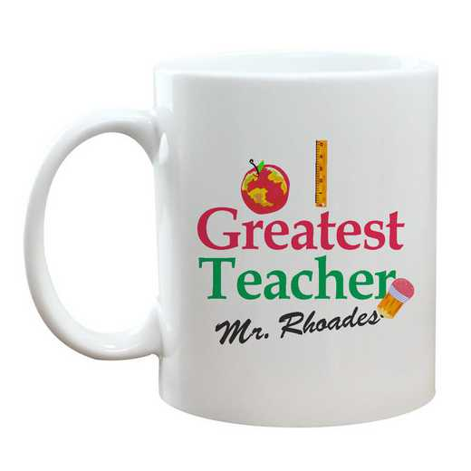 21117M: World's Greatest Teacher Coffee Mug 11 oz