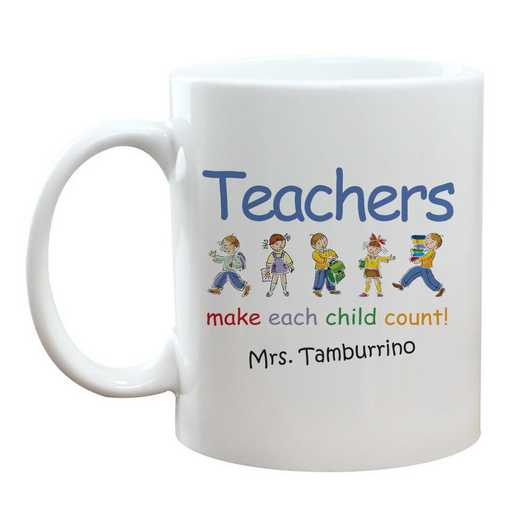 211210: Make Each Child Count Teacher Mug 11 oz