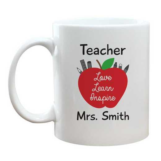2146750: Teacher Love-Learn-Inspirt Coffee Mug 11 oz