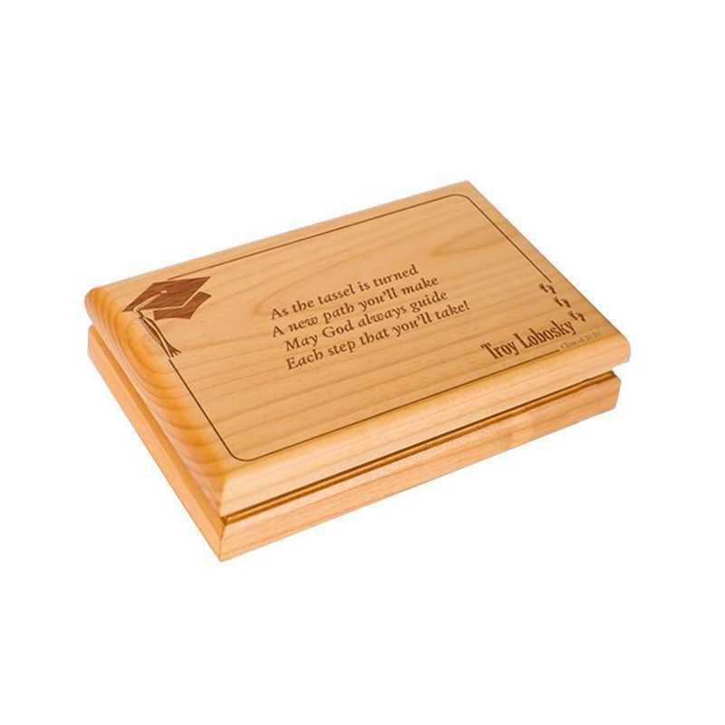 G11846: Wooden Valet Box /graduation