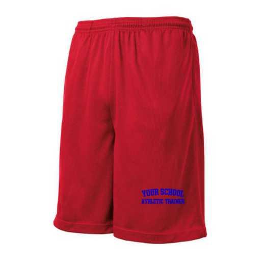 Athletic Trainer Embroidered Sport-Tek 9 inch Mesh Pocket Short