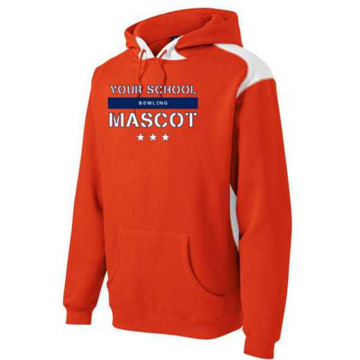 Bowling Youth Heavyweight Contrast Hooded Sweatshirt