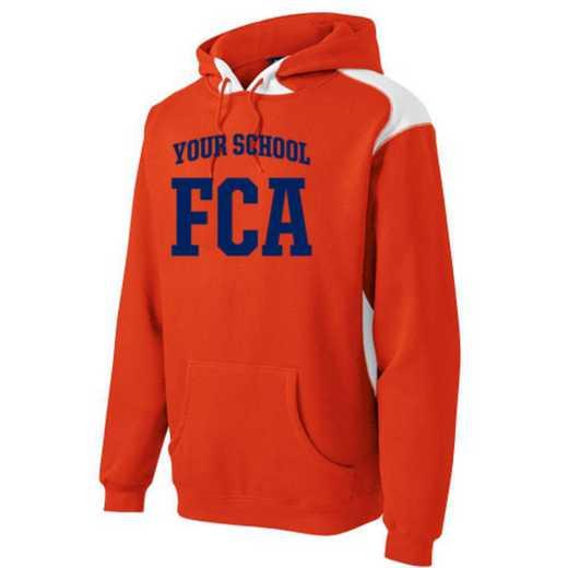 FCA Youth Heavyweight Contrast Hooded Sweatshirt