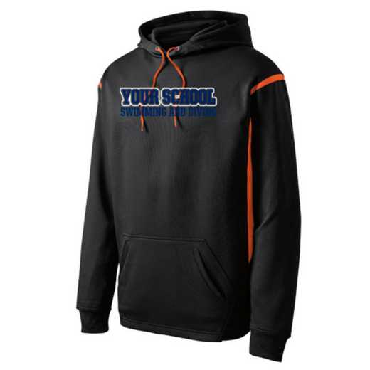 Adult Swimming & Diving Athletic Fleece Hoodie