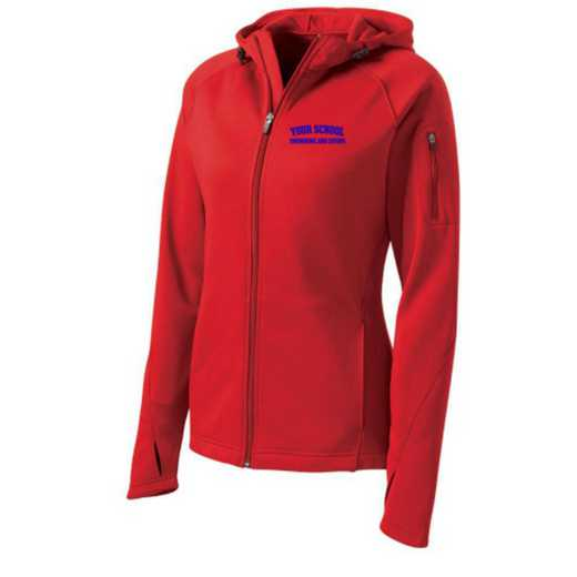 Swimming and Diving Sport-Tek Embroidered Womens Tech Fleece Hooded Jacket