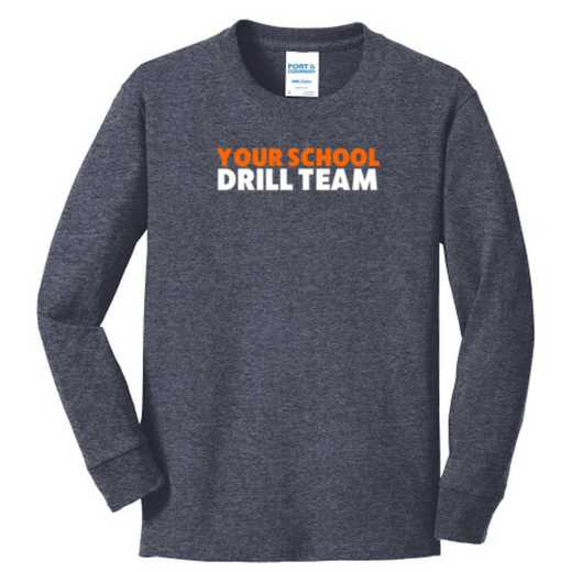 Drill Team Youth Classic Fit Long Sleeve T-shirt