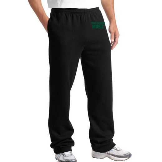 Music Sport-Tek Embroidered Heavy Weight Sweatpants