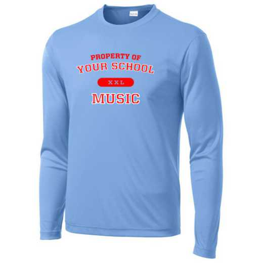 Music Long Sleeve Competitor T-shirt