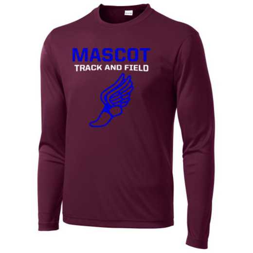 Track and Field Long Sleeve Competitor T-shirt