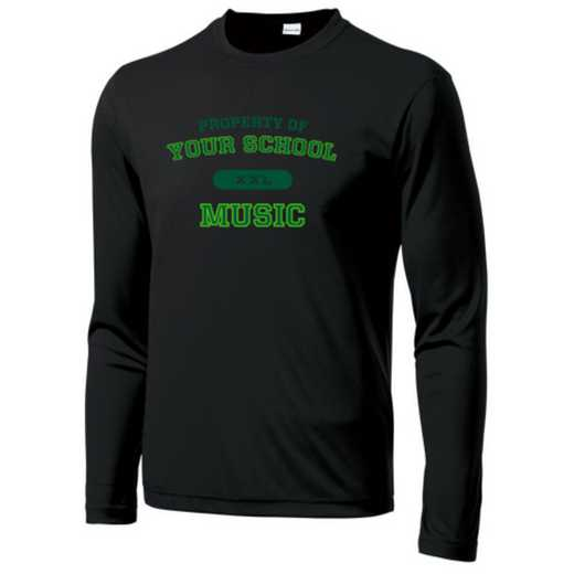 Music Sport-Tek Youth Long Sleeve Competitor T-shirt