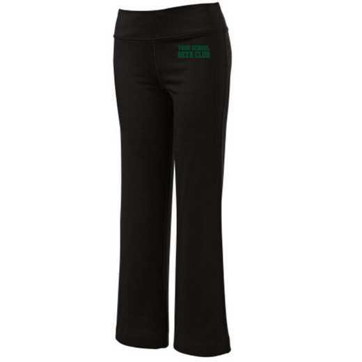 Beta Club Embroidered Yoga Pants