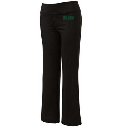 Cross Country Embroidered Yoga Pants