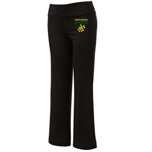 Choir Embroidered Yoga Pants