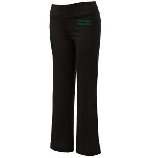 Track and Field Embroidered Yoga Pants