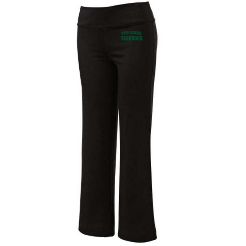 Embroidered Yoga Pants