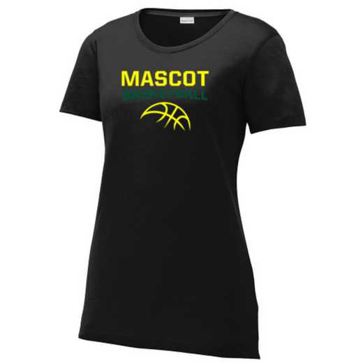 Basketball Ladies Competitor Cotton Touch Training T-shirt