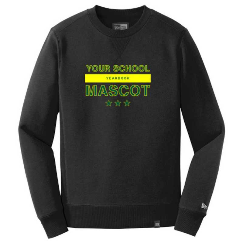 New Era French Terry Crew Neck Sweatshirt
