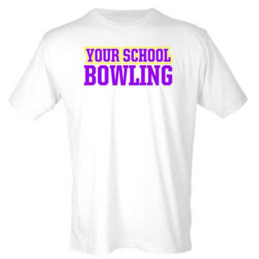 Bowling Mens Heather Blend T-shirt