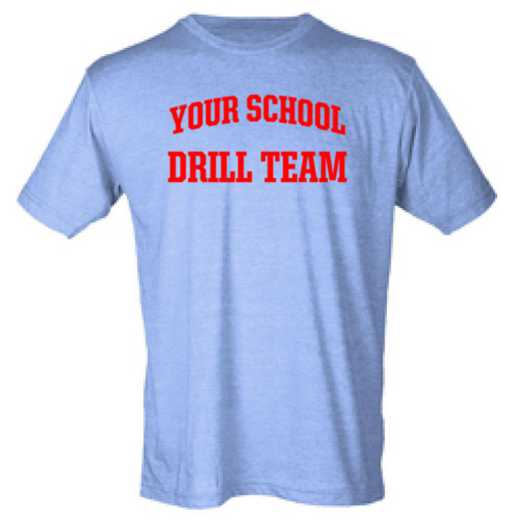 Drill Team Mens Heather Blend T-shirt