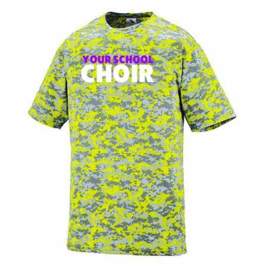 Choir Augusta Digi Camo Performance T-Shirt