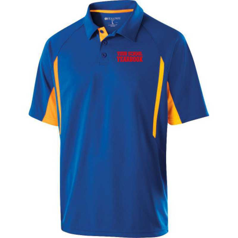 Embroidered Mechanical Stretch Polo