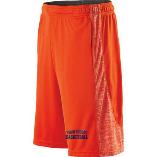 Basketball Embroidered Holloway Youth Electron Short