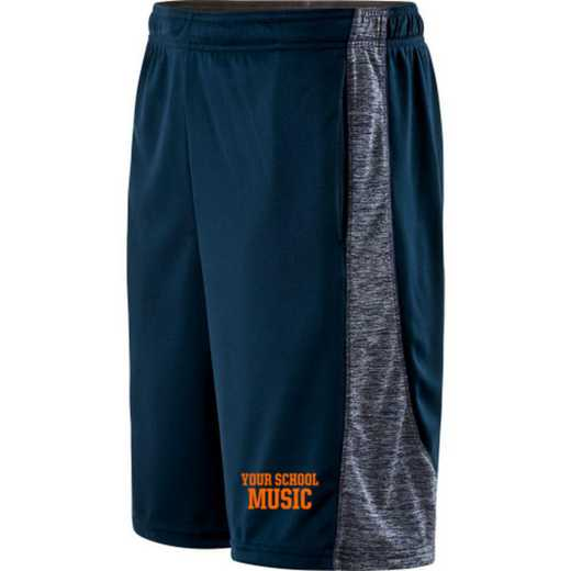 Music Embroidered Holloway Youth Electron Short