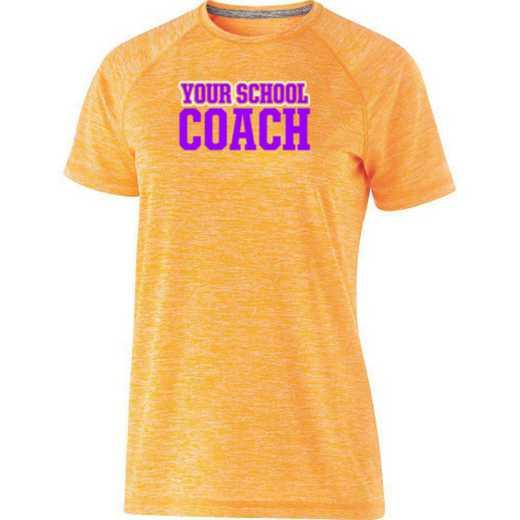 Coach Womens Holloway Heather Electrify Perform Shirt