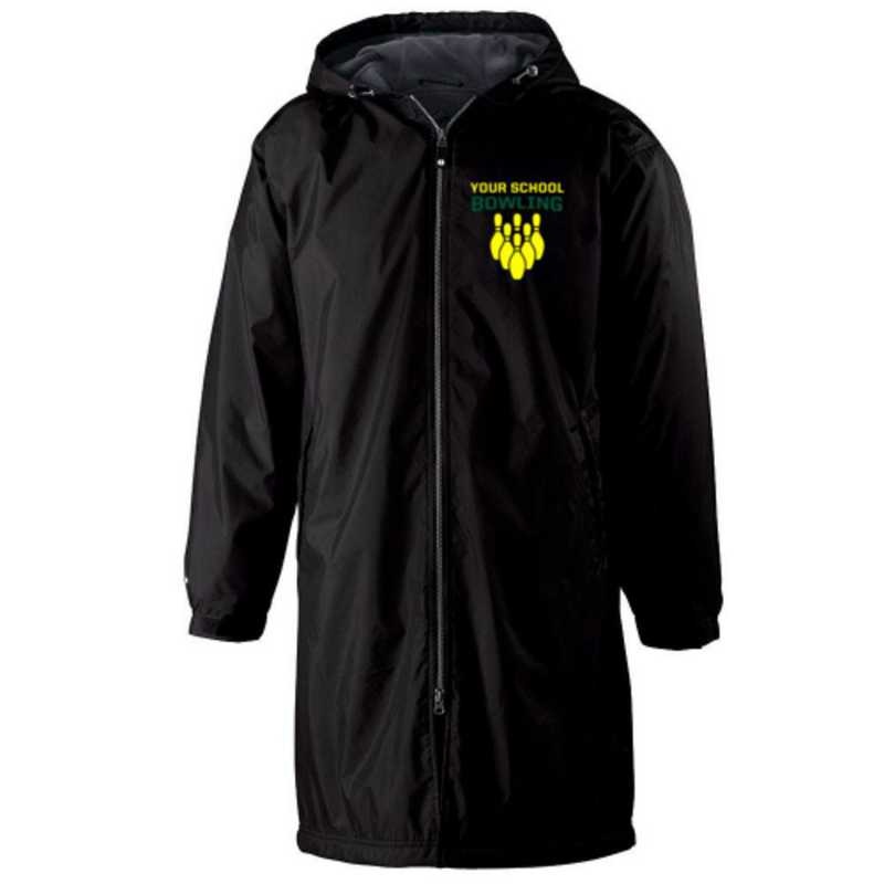 Bowling Embroidered Holloway Conquest Stadium Jacket