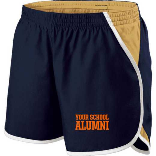 Alumni Holloway Embroidered Ladies Energize Short