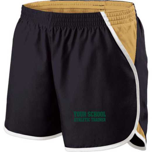 Athletic Trainer Holloway Embroidered Ladies Energize Short