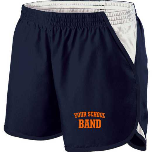 Band Holloway Embroidered Ladies Energize Short