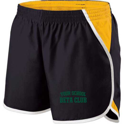 Beta Club Holloway Embroidered Ladies Energize Short