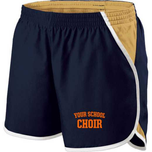 Choir Holloway Embroidered Ladies Energize Short