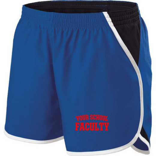 Faculty Holloway Embroidered Ladies Energize Short