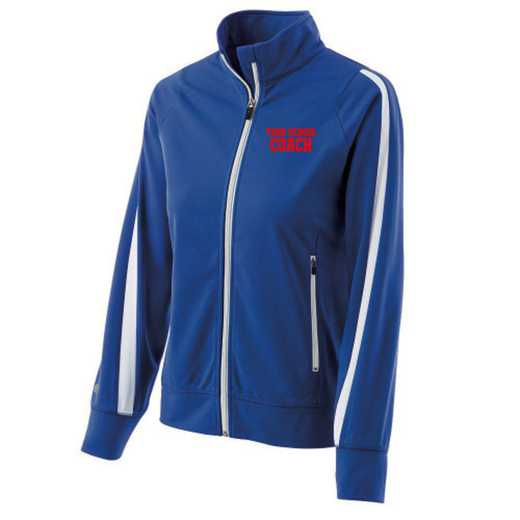 Coach Embroidered Ladies Holloway Determination Jacket