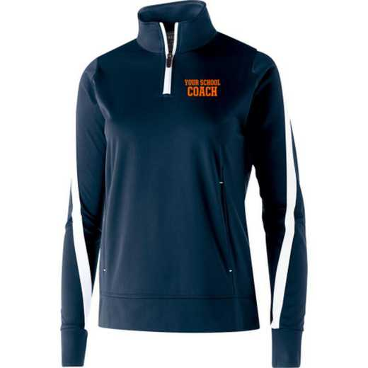 Coach Embroidered Ladies Holloway Determination Pullover
