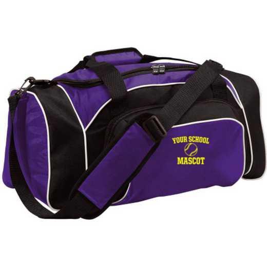 Baseball Embroidered Holloway League Duffel Bag