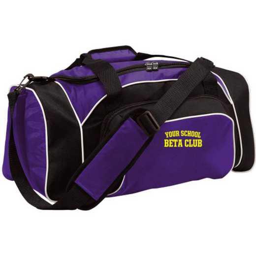 Beta Club Embroidered Holloway League Duffel Bag